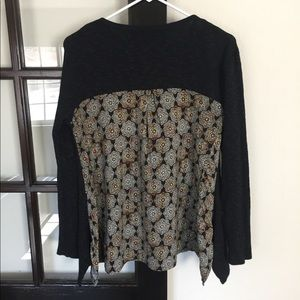 Max Jeans Long Sleeve Top. Size S.